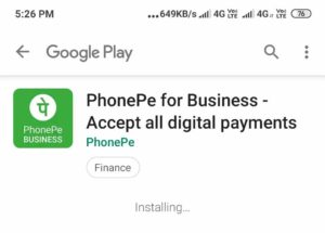 PhonePe Business App Download