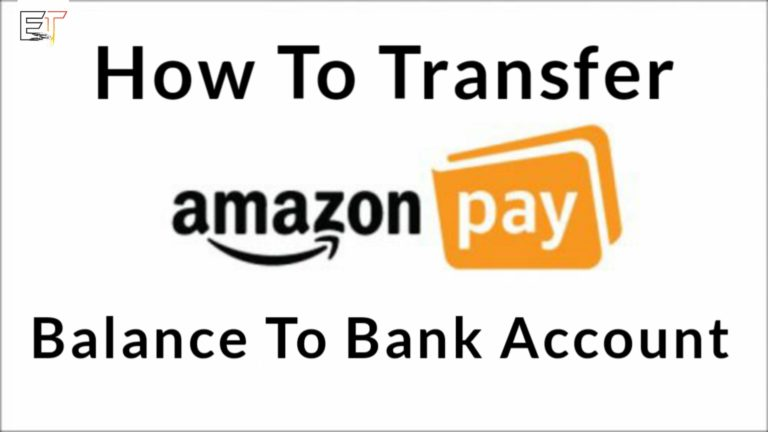 Transfer Amazon Pay Balance To Bank Account Easiest Method
