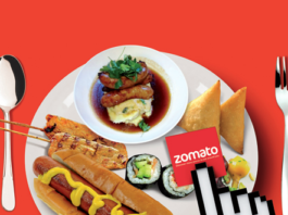 Zomato Food Offer - Get Flat Rs.100 Discount On Order Rs.300 Or Above