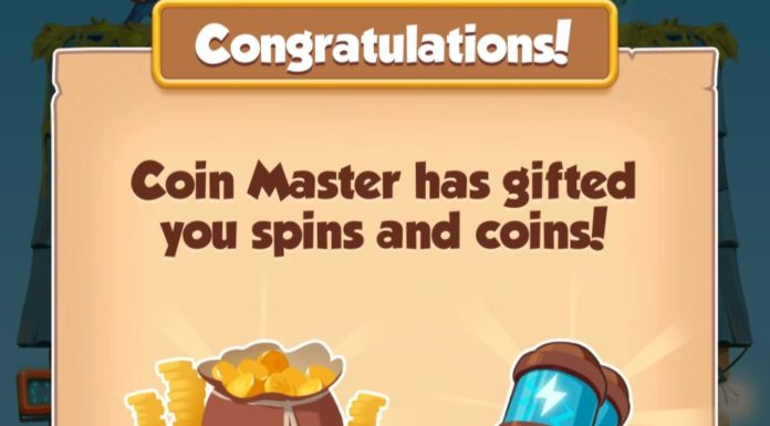 Coin Master 10 Spins & 1.5M Coins